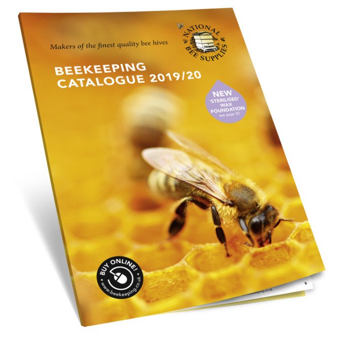 national bee supplies catalogue front cover 3d