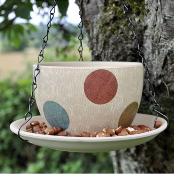 Hippy Pastel Teacup Feeder