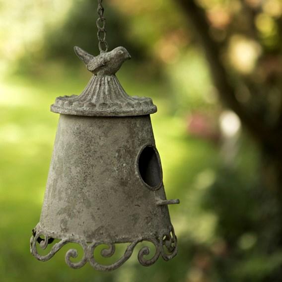 Hanging Bell Bird House