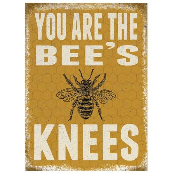 Bees Knees Sign