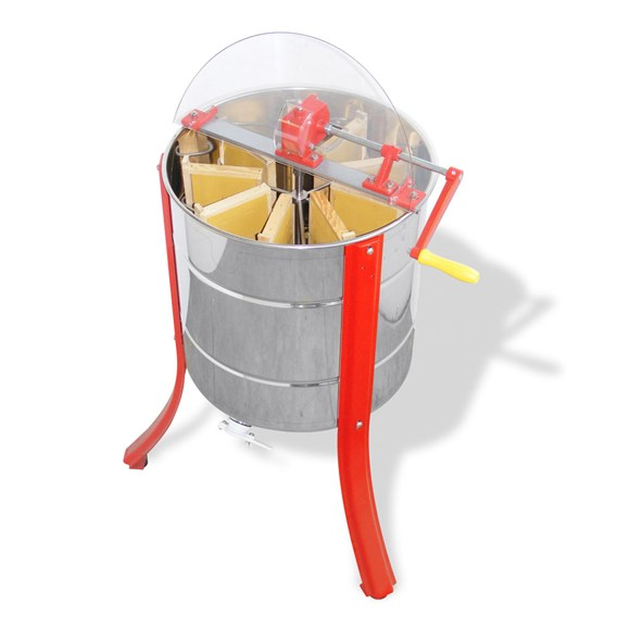 Nine Frame Stainless Steel Extractor for Manley With Side Handle And Legs