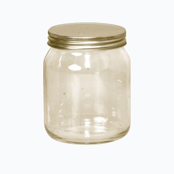 72 Jars With METAL Lids 454g/1lb