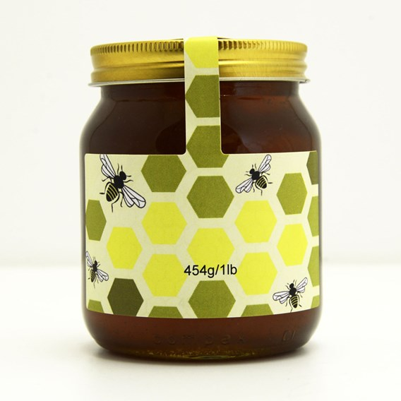 100 Personalised Jar And Tamper Labels - Graphic Comb