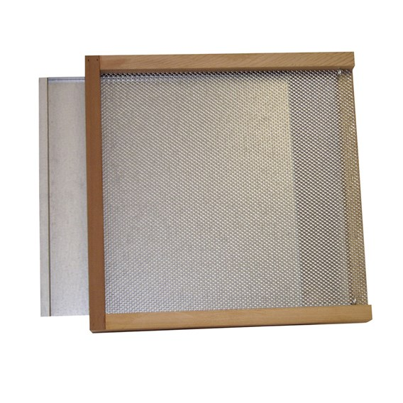 Langstroth Ventilated Floor Galvanised Runners Tray And Mesh