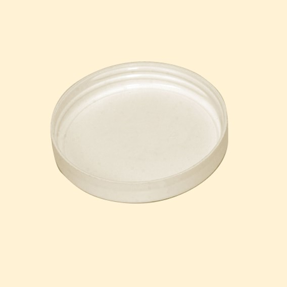 White Plastic Screw Lids