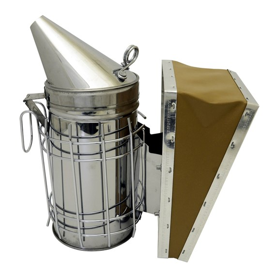 Stainless Steel Smoker With Guard 7X4