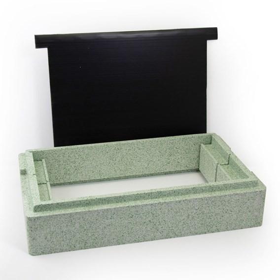 Poly Nuc Box Eke and 14 x 12 National Correx Divider Board