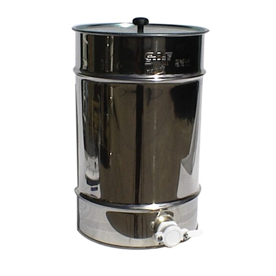 50Kg Stainless Steel Honey Tank With Integal Filter