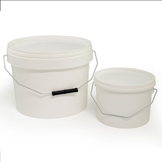 2.5 Litre Plastic Food Grade Bucket