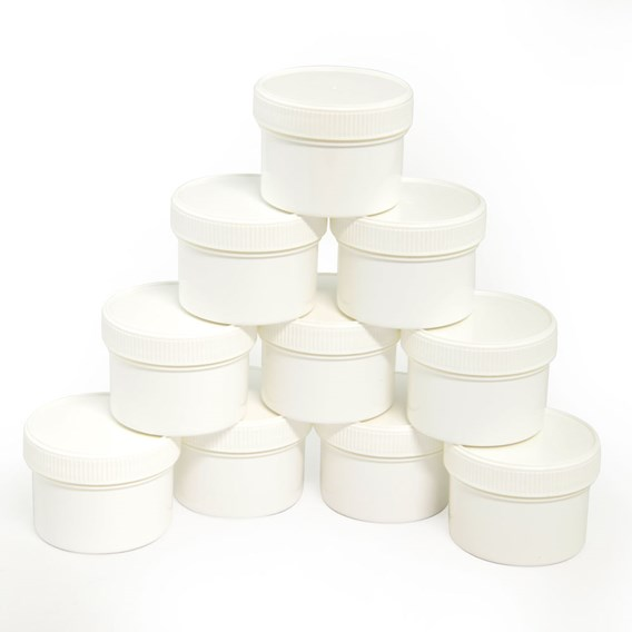 10 Beeswax Cream Tubs