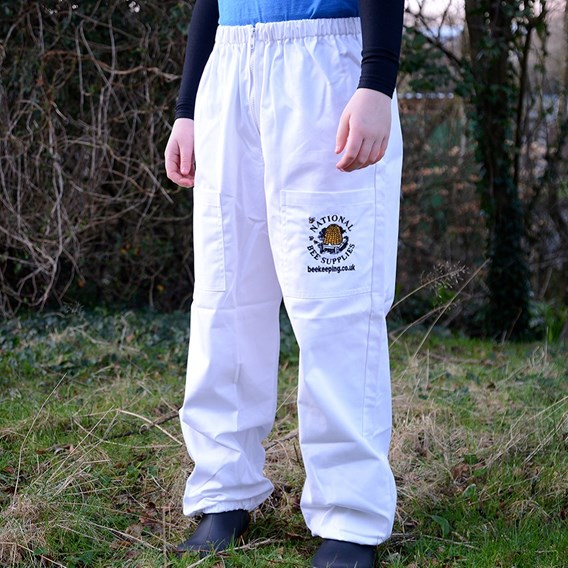 Children's Beekeeping Trousers White  XXXS (2018)