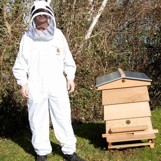 Beekeepers Suit with Fencing Hood