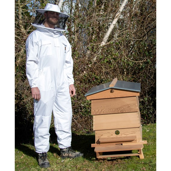 Beekeepers Suit with Round Hood