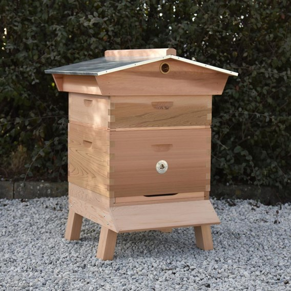Commercial Hive Kit 1x Supers Gabled Roof Upgrade