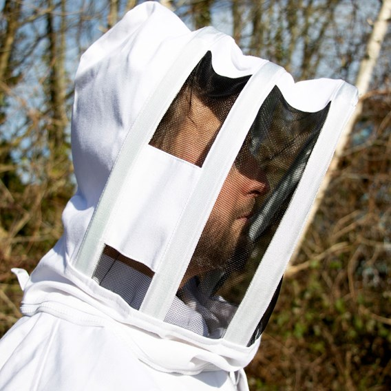 Jacket with Fencing Hood