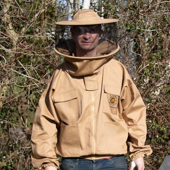 Jacket with Round Hood