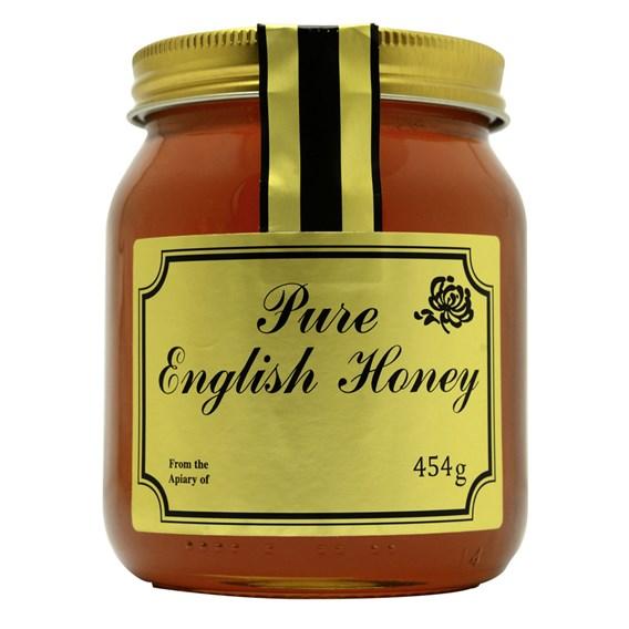 Pre Printed Labels English Honey