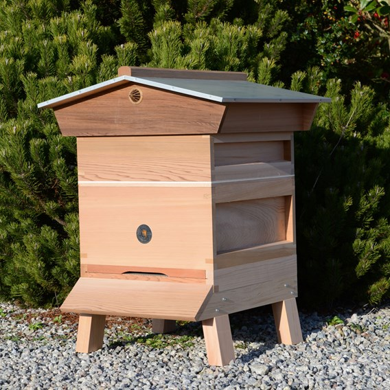 National Hive Kit 1x Supers Gabled Roof Upgrade
