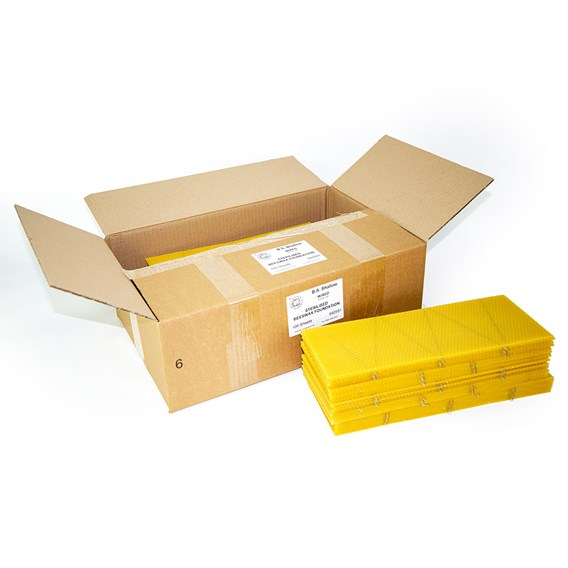 B.S. Shallow Foundation Sterilised Standard Worker cell Box of 100 Sheets