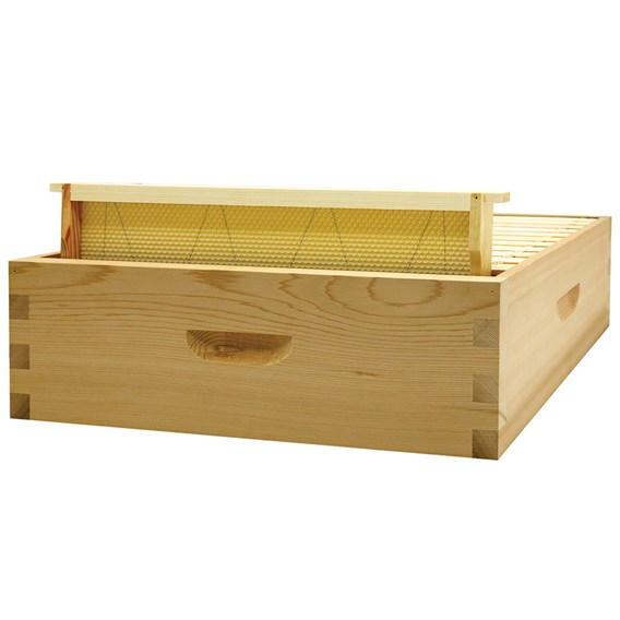 Commercial Super - Top Bee Space, with runners (Flat Pack)