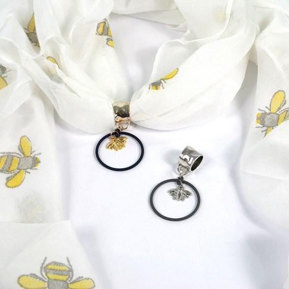 Scarf Jewellery Silver (NBS)