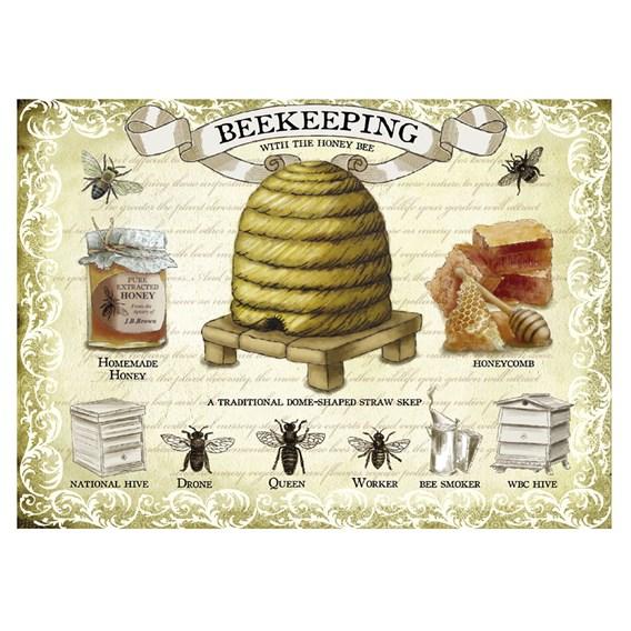 Beekeeping Metal Sign