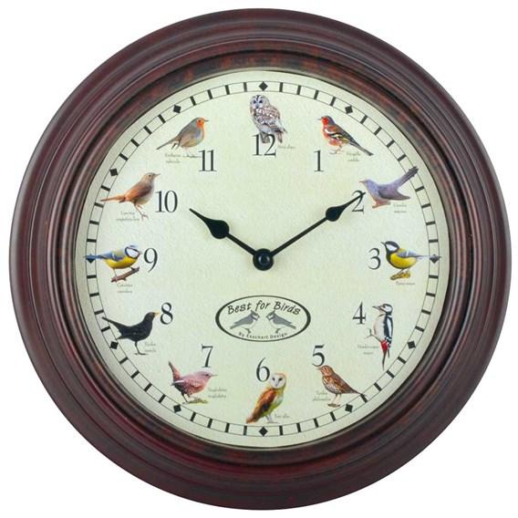 Bird Sounds Clock
