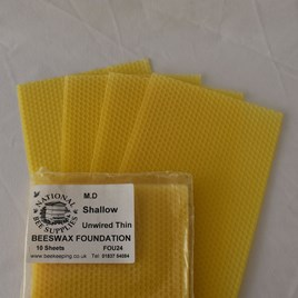 Modified Dadant Foundation   National Bee Supplies
