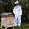 Childrens Beekeepers Suit With Round Hood