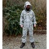Camo 3 layer ventilated Suit with fencing Hood